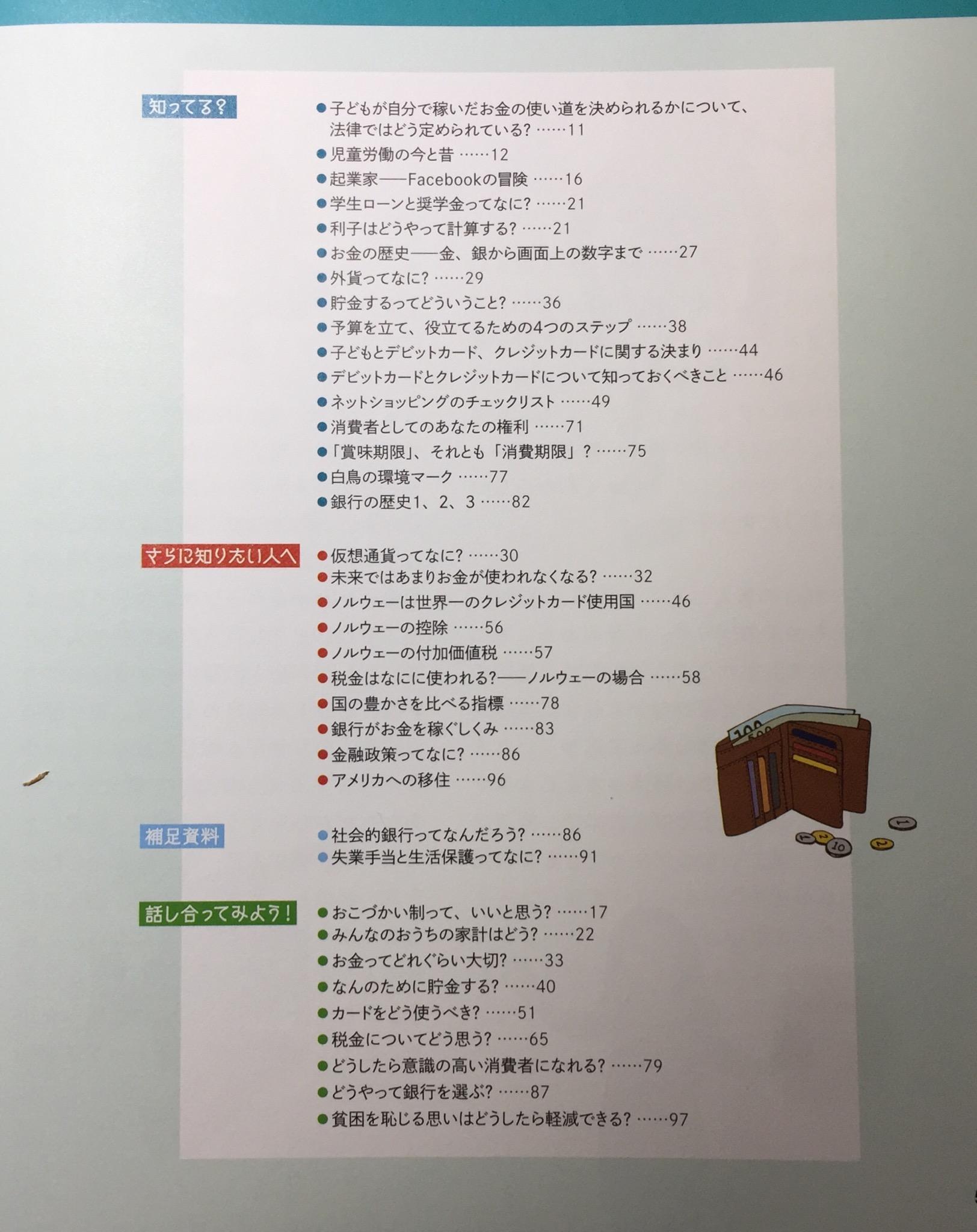 本のもくじ2